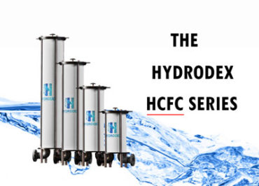 Hydrodex HCFC Series industrial cartridge filter housing