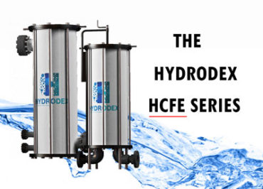 Hydrodex HCFE Series industrial cartridge filter housing