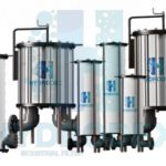 Hydrodex industrial FRP cartridge filter housing filter vessel
