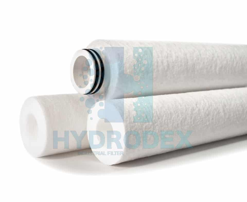 Hydrodex spun pp poly melt blown filter cartridge