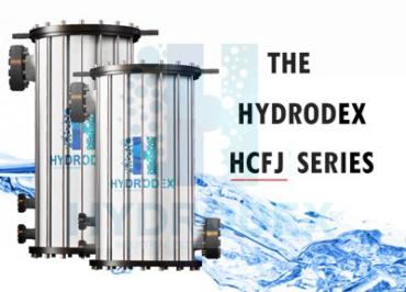 Hydrodex HCFJ Series industrial frp cartridge filter housing