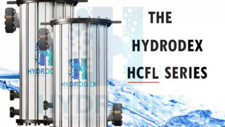 Hydrodex HCFL Series industrial frp cartridge filter housing