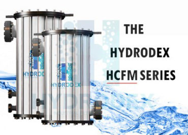 Hydrodex HCFM Series industrial frp cartridge filter housing
